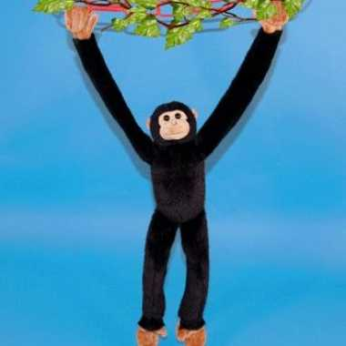 Knuffel hangende chimpansee
