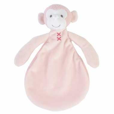 Kraamkado roze knuffeldoekje marly
