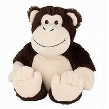 Opwarmbare knuffel aap