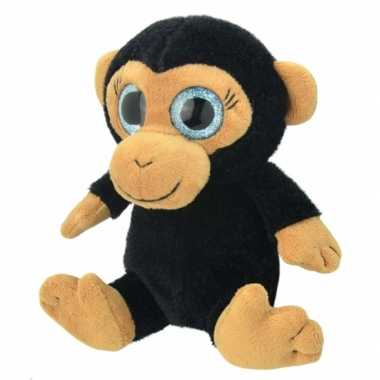 Pluche chimpansee aap knuffeldier